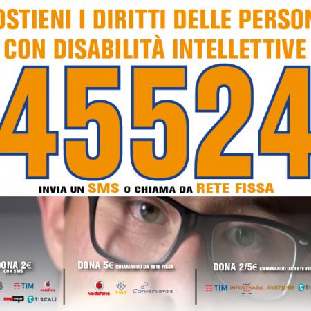 Sostieni i diritti delle persone con disabilità intellettive