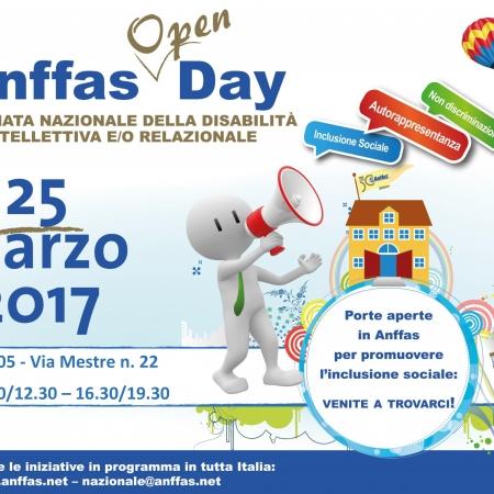 Open Day Anffas 2017 - 25 marzo